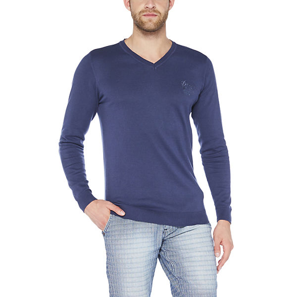 COLORADO Basic Sweatshirt DENIM blau Style xqX0x4