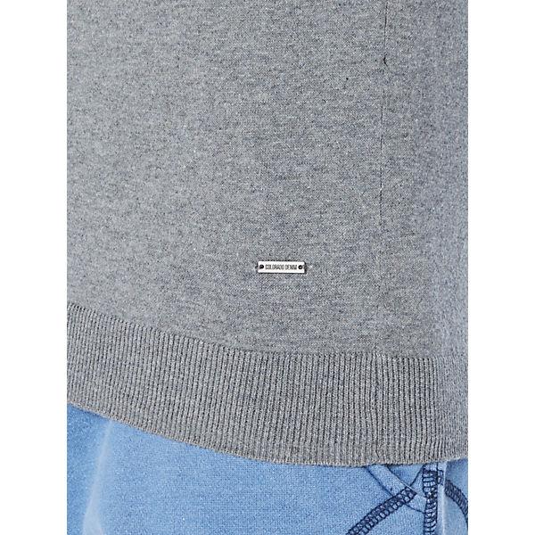 DENIM COLORADO Sweatshirt Style hellgrau Basic FOPOq