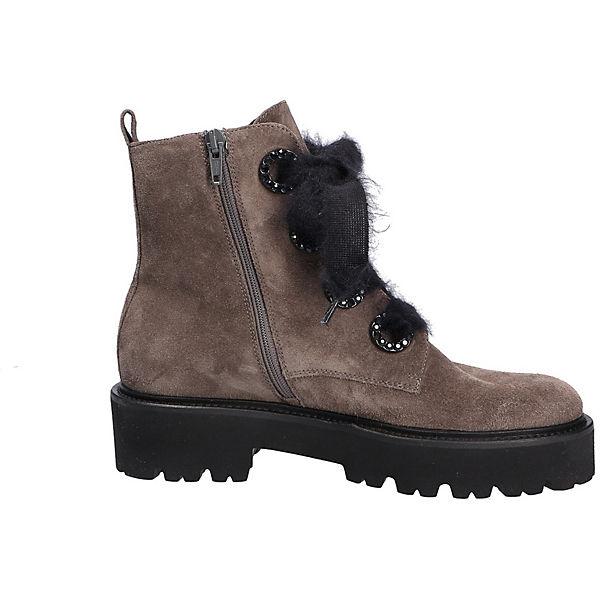Fashion grau Kennel Boot amp; Schnürstiefeletten Stiefel Schmenger Ex406q