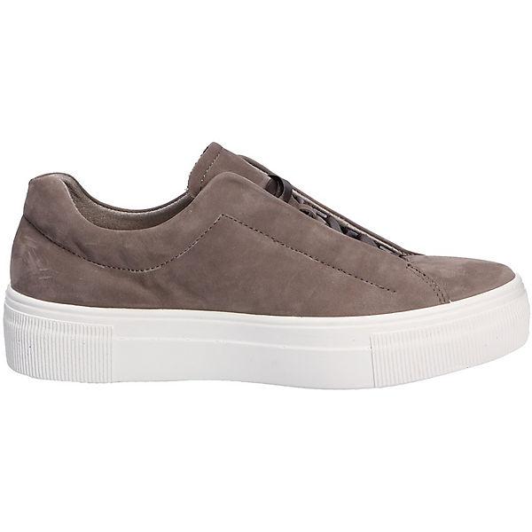 Low Sportiver Schnürschuh superfit Sneaker grau Sneakers dIRx7wxqv
