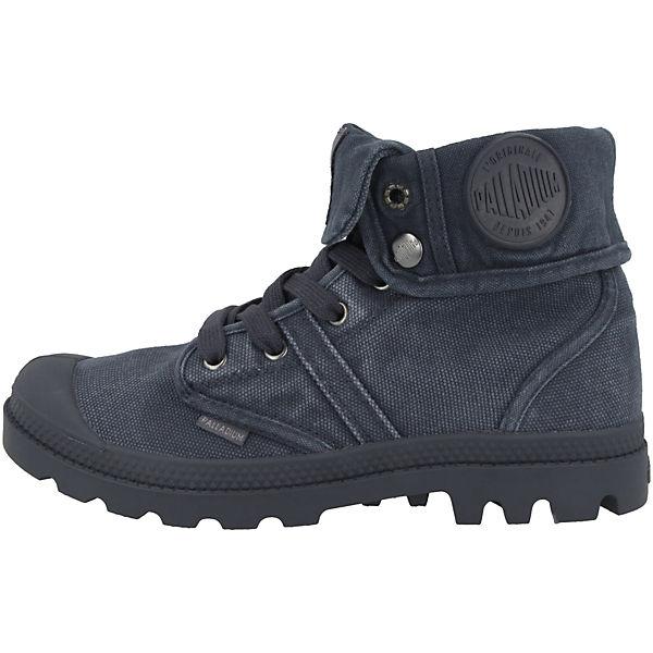Palladium, Schuhe Pallabrouse Baggy Qualität Schnürstiefeletten, blau  Gute Qualität Baggy beliebte Schuhe aecae7