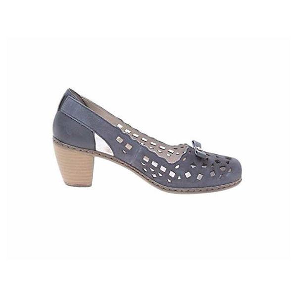 Rieker, Pumps, blau Gute beliebte Qualität beliebte Gute Schuhe 34e801