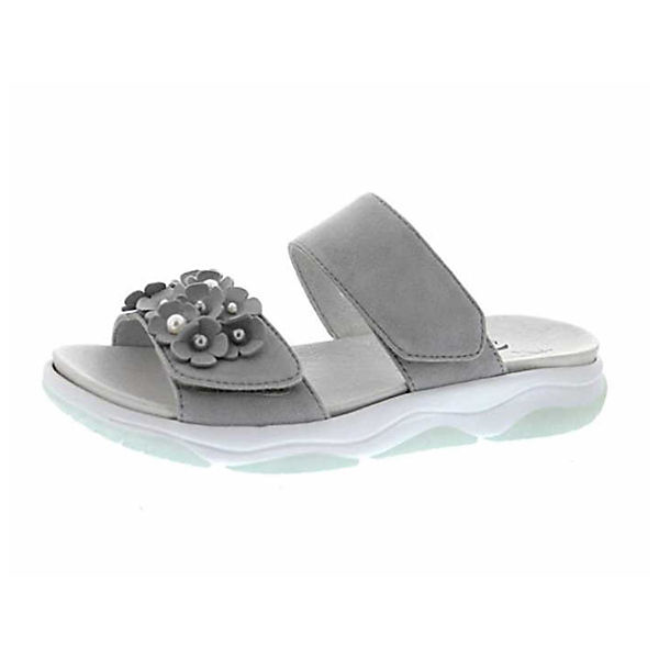 Gabor, Pantoletten, grau Qualität  Gute Qualität grau beliebte Schuhe 3befcd
