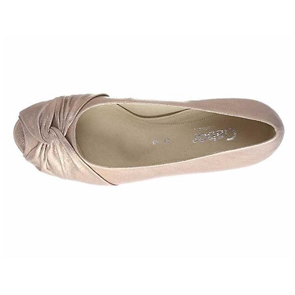 Gabor, Pumps, gold Schuhe  Gute Qualität beliebte Schuhe gold c0138b