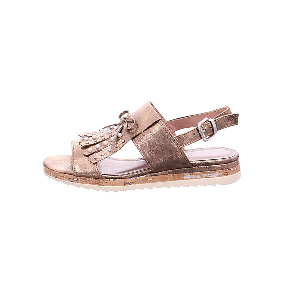 MARCO TOZZI, Sandalen, beliebte bronze  Gute Qualität beliebte Sandalen, Schuhe 249ac9