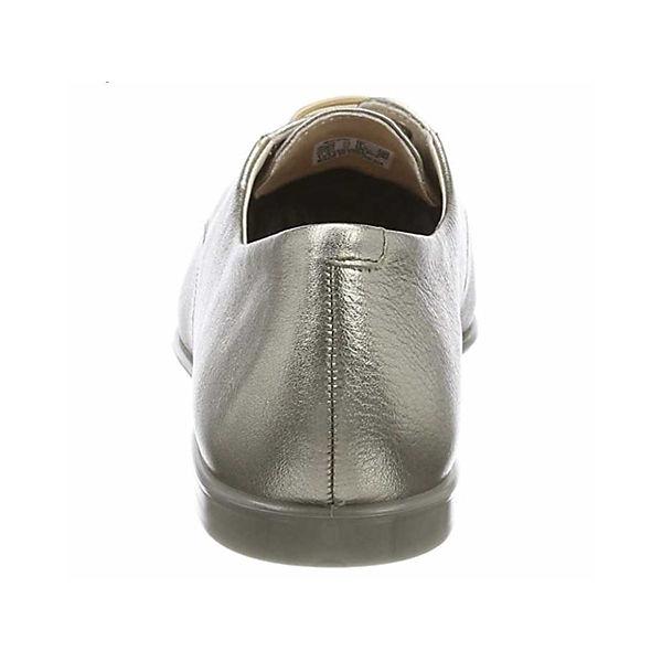 ecco, Schnürschuhe, bronze Qualität  Gute Qualität bronze beliebte Schuhe 65fa11