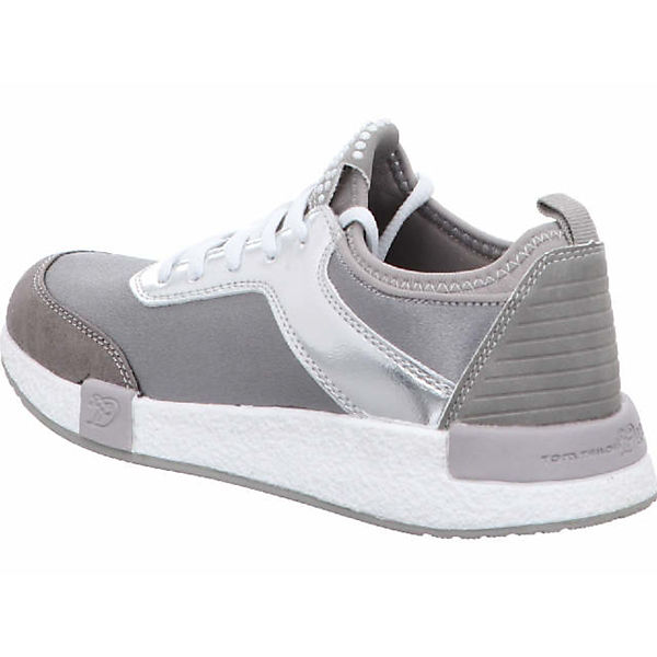 TOM TAILOR, Sneakers, Qualität grau  Gute Qualität Sneakers, beliebte Schuhe d11c51
