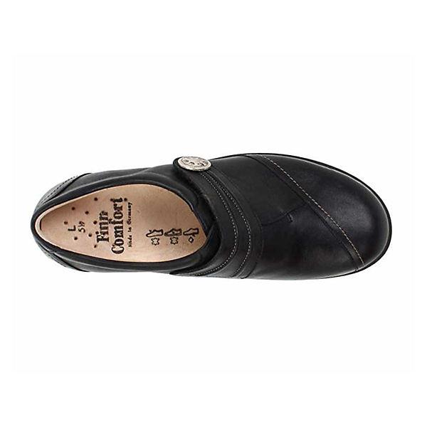 Finn Comfort, Halbschuhe, schwarz  Gute Qualität beliebte Schuhe