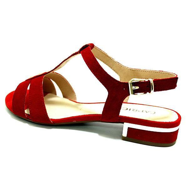 CAPRICE, Sandalen, Gute rot  Gute Sandalen, Qualität beliebte Schuhe 2ea98c