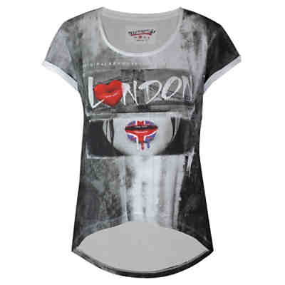 T-Shirt London Lips mit London-Print