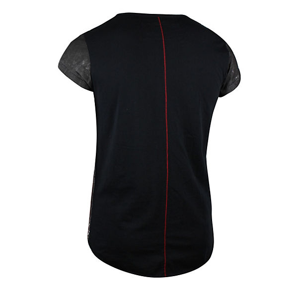 mit La T Print trueprodigy® Shirt Totenkopf schwarz Muerte RnIqwUxp