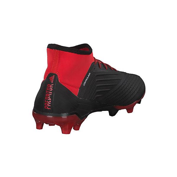 adidas Performance, Fußballschuhe Predator 18.2 FG Gute mit Nocken-Sohle, rot-kombi  Gute FG Qualität beliebte Schuhe ada4d3