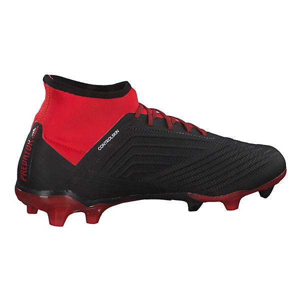 2 Sohle FG Performance adidas Fußballschuhe Predator Nocken rot mit kombi 18 8wx1Iqa