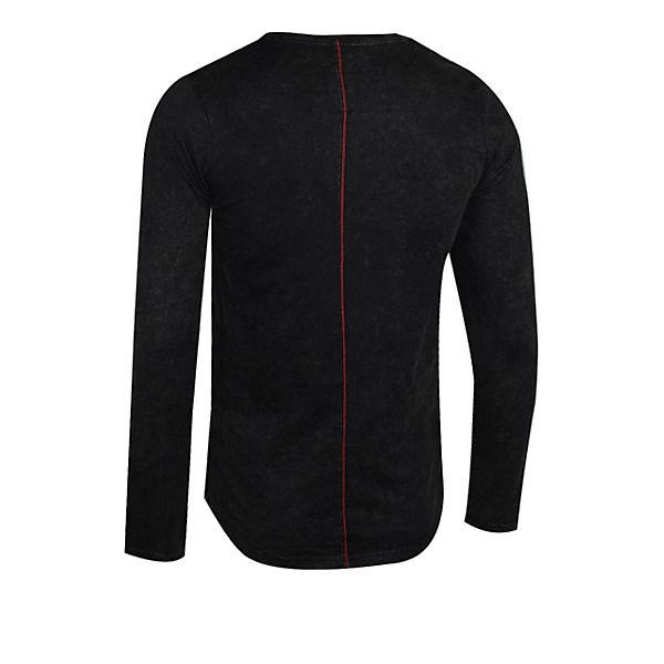 Longsleeve schwarz Mike cooler Brusttasche mit trueprodigy® gCawqBxC