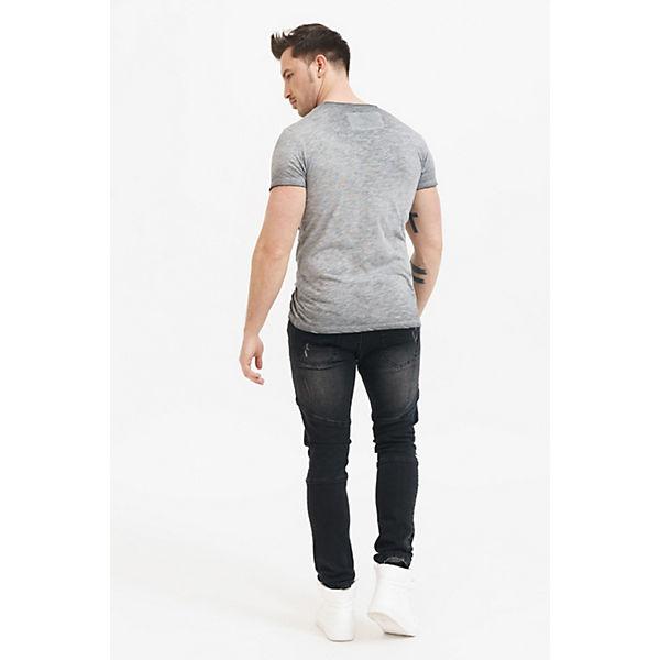 Frontdruck coolem mit trueprodigy® Shirt T anthrazit Tracy Ax1XRw