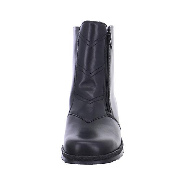 Klassische Stiefeletten Damen schwarz Stiefeletten ara qBYXw8x
