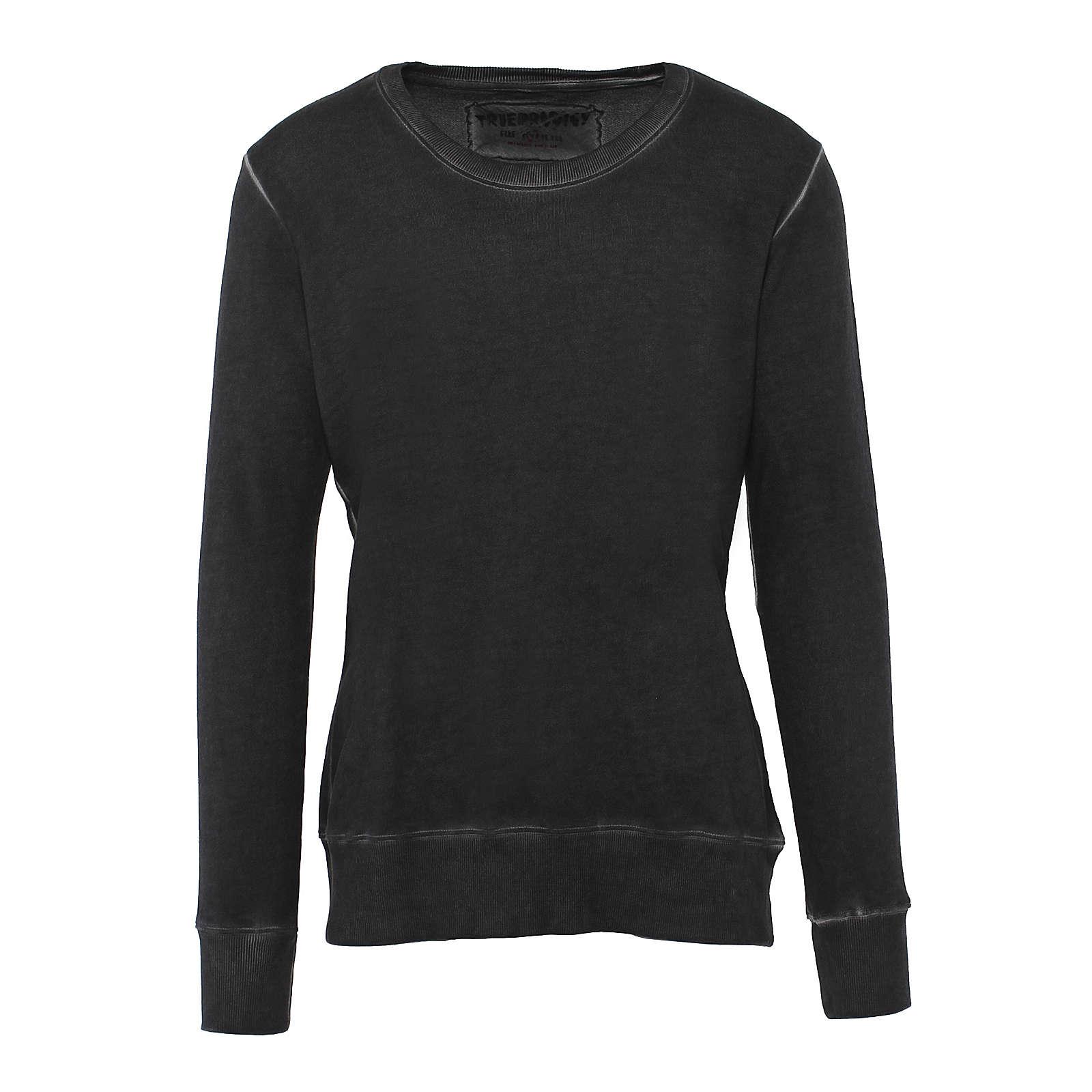 trueprodigy® Sweatshirt Hodor im Casual-Look anthrazit Herren Gr. 54
