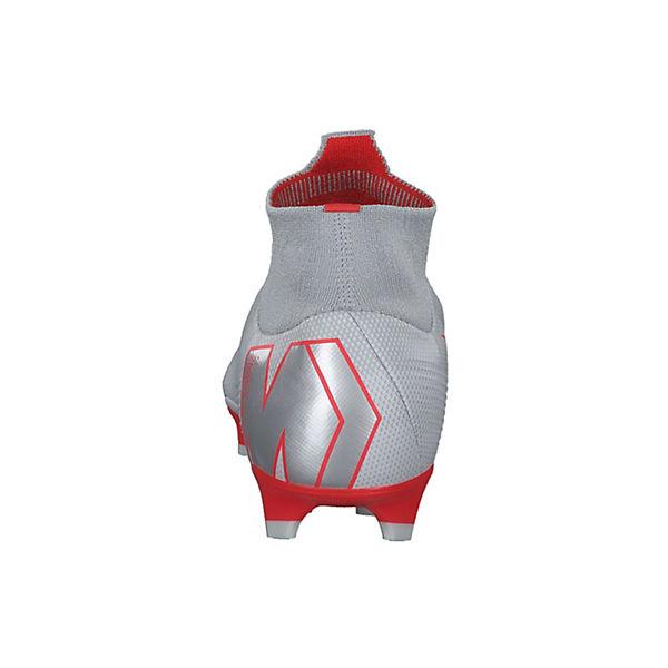 FG Sohle grau 081 rot Nocken mit AH7368 NIKE Mercurial Fußballschuhe VI Pro Superfly 1wwRXPxv