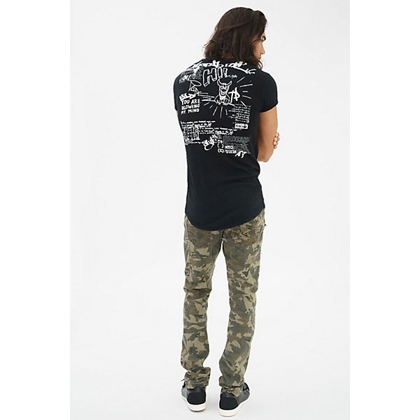 Way One Aufdruck trueprodigy® mit modernem Graffiti schwarz T Shirt qfHnAxZt