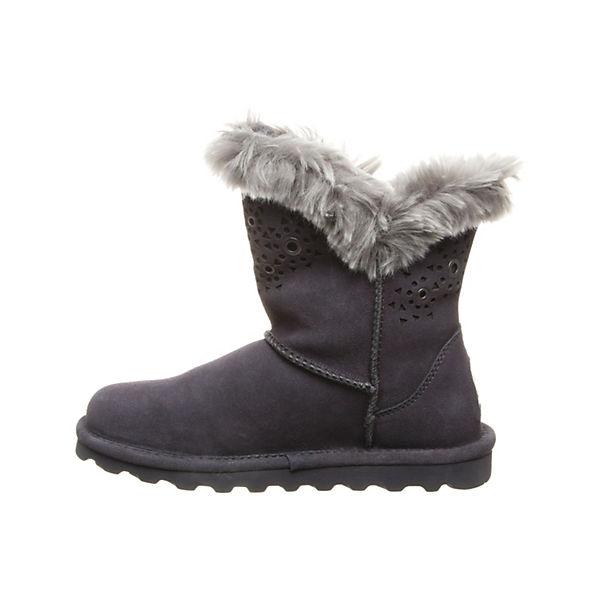 Winterstiefeletten Lammfell grau Bearpaw Stiefel ANDREA t6wAxYq