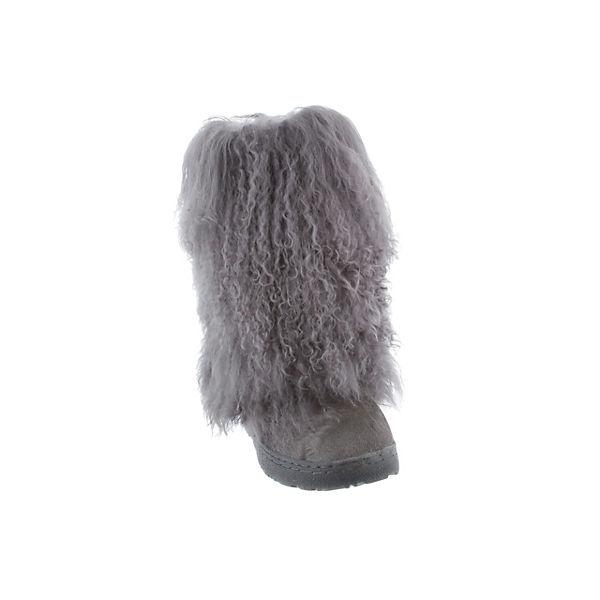 Bearpaw, Lammfellstiefel BOETIS grau Winterstiefel, grau BOETIS   4539a3