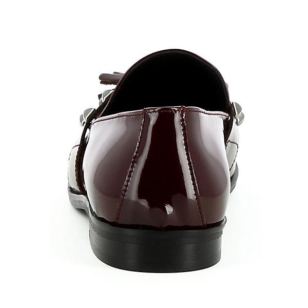 Slipper Klassische Shoes FILIPA Damen Evita bordeaux Slipper SawqUw4