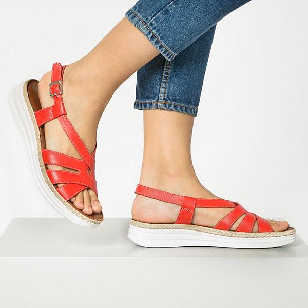 Andrea Conti, Komfort-Sandalen, rot  Gute Qualität beliebte Schuhe