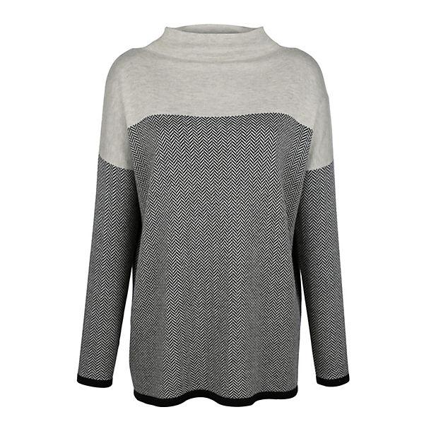 grau Alba Alba Moda Pullover Moda Moda Pullover grau Alba wIqpTU8C