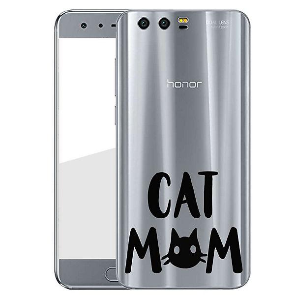 Schwarz Handyhülle Finoo Mom Cat Mom Cat Finoo Handyhülle ZXTOiuwPk