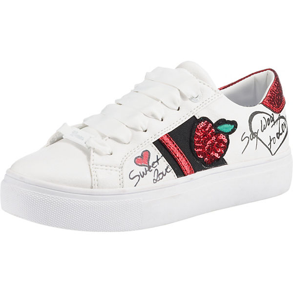 wholesale dealer 318fe d4827 TOM TAILOR, Sneakers Low, weiß-kombi