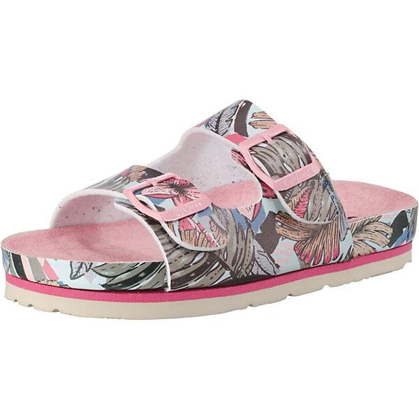 Gutes Angebot Pepe Jeans Pantoletten BIO TROPIC für Mädchen rosa