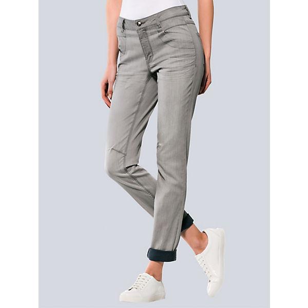 Alba Moda Jeans Moda Alba Jeans grau Alba grau Moda qqdrwUzn