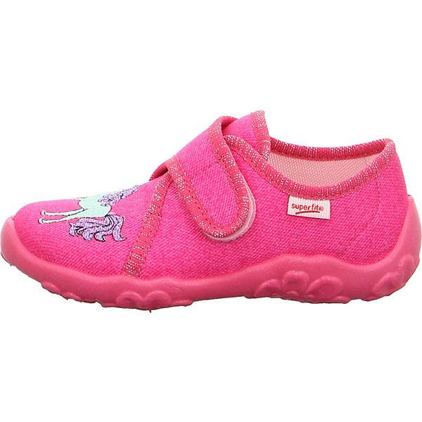 begrenzter Verkauf ankommen am beliebtesten superfit, Hausschuhe BONNY für Mädchen, WMS-Weite M4, rosa ...