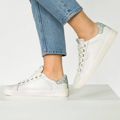 Damen Sneaker Pepe Jeans GABLE CAVIAR Sneakers Low silber