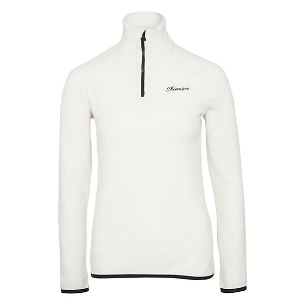 Chiemsee Slim Reißverschluss Fleece Fit Pullover Mit Offwhite 34RLjcA5qS