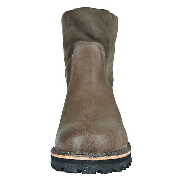 Shabbies Amsterdam, Winter-Boots mit Lammfellfutter Klassische Klassische Klassische Stiefel, taupe  Gute Qualität beliebte Schuhe 1fdff9