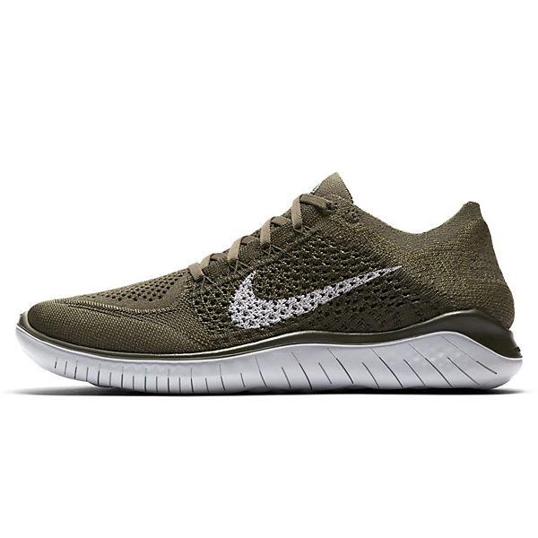 Nike Rn Flyknit Khaki Sportschuhe 2018 Free BeCxord