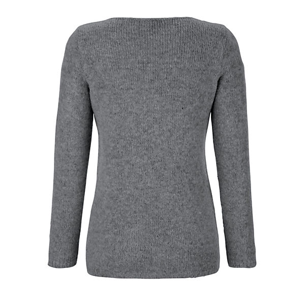 Moda Alba Moda Alba Pullover Alba Pullover Grau Moda Grau Moda Alba Pullover Grau vm8nwN0