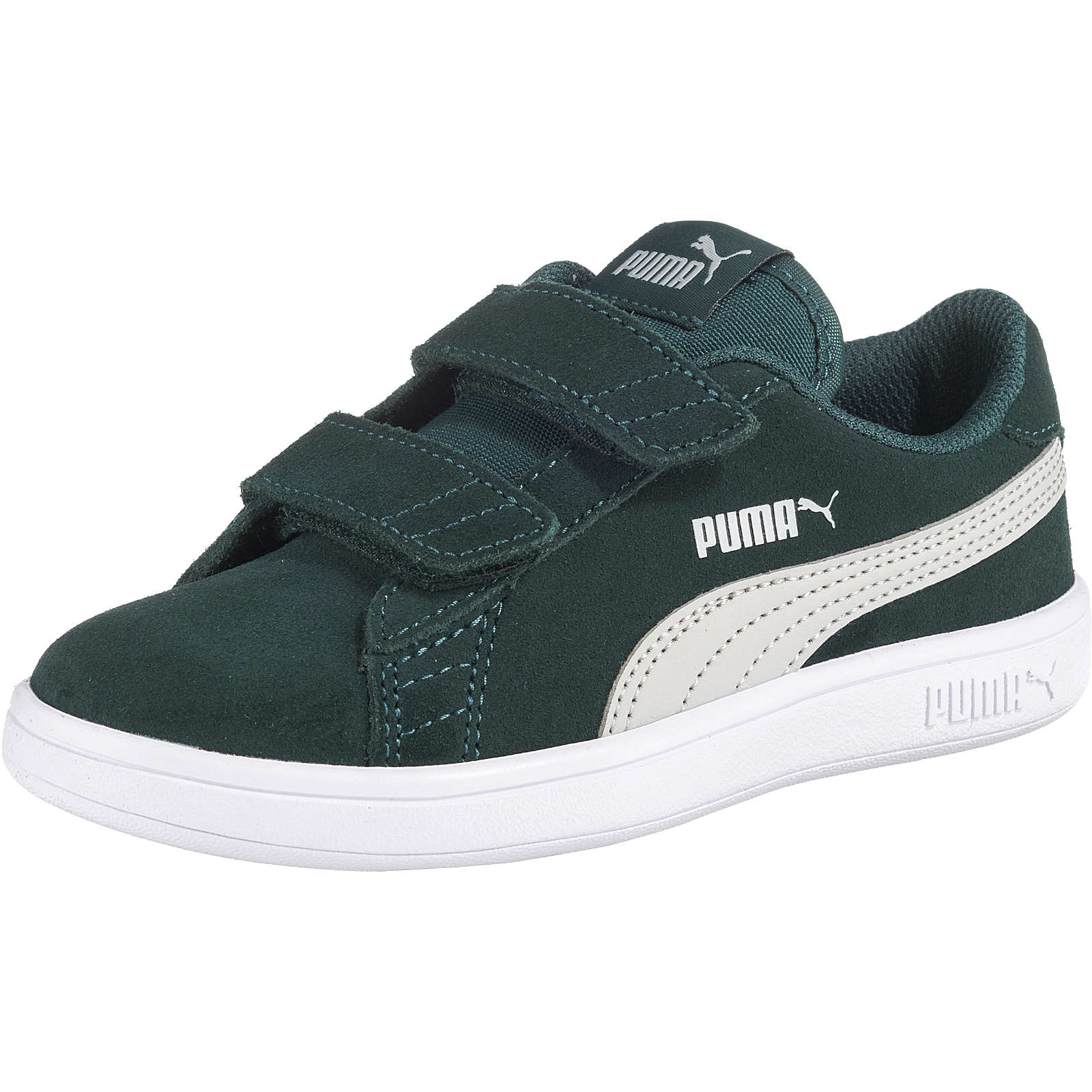 PUMA Kinder Sneakers low SMASH V2 SD V PS grün Gr. 33