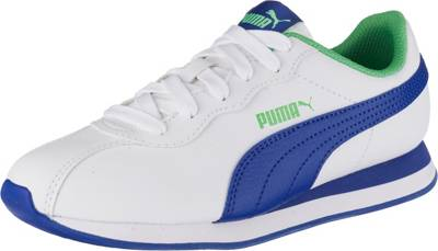 PUMA, Kinder Sneakers low TURIN II JR, blauweiß | mirapodo