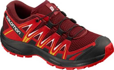 Salomon, Kinder Outdoorschuhe XA PRO 3D J, rot