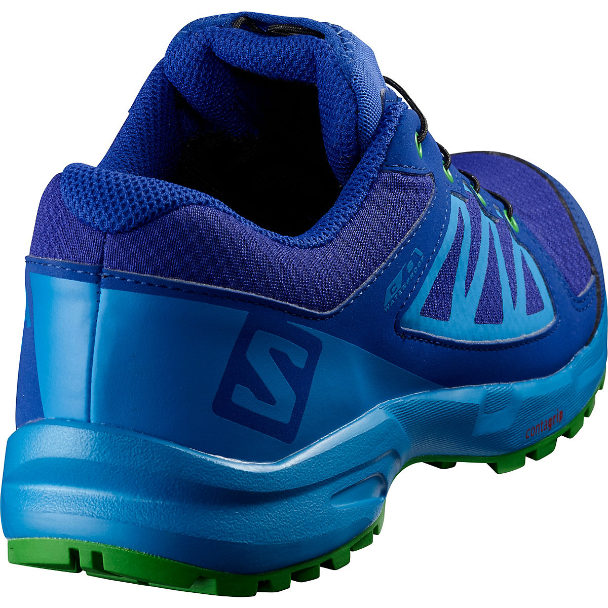 Salomon, Kinder Outdoorschuhe Xa Elevate Cswp J, Blau