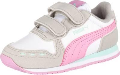 PUMA, Baby Sneakers Low CABANA RACER SL V INF für Mädchen, rosa