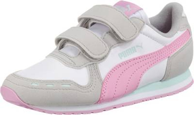 PUMA, Sneakers Low CABANA RACER SL V PS für Mädchen, rosa