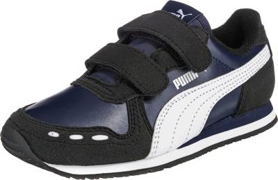PUMA, Sneakers Low CABANA RACER SL V PS für Jungen, dunkelblau
