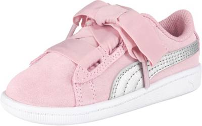 PUMA, Baby Sneakers low VIKKY RIBBON AC INF für Mädchen, rosa