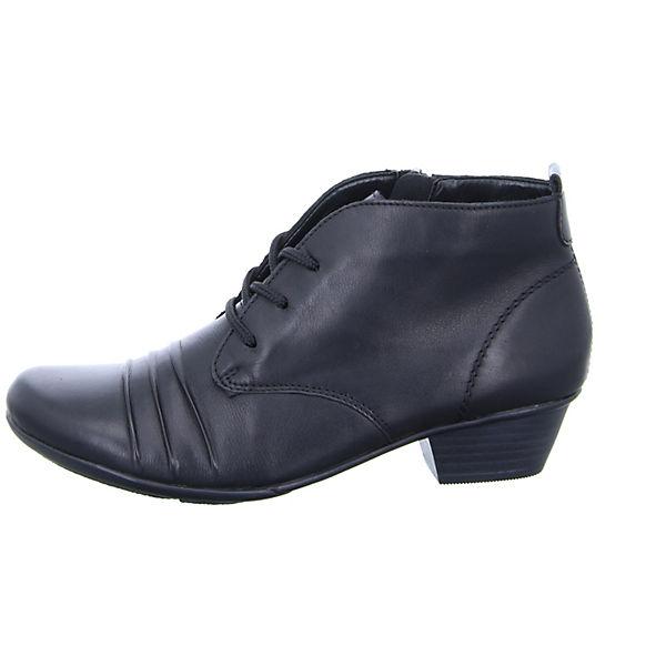 remonte, Damen Stiefelette D7370 Schnürstiefeletten, schwarz  Gute Qualität beliebte Schuhe