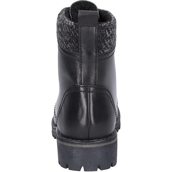 MARCO TOZZI, Stiefelette Gute Schnürstiefeletten, schwarz  Gute Stiefelette Qualität beliebte Schuhe 9e7cda