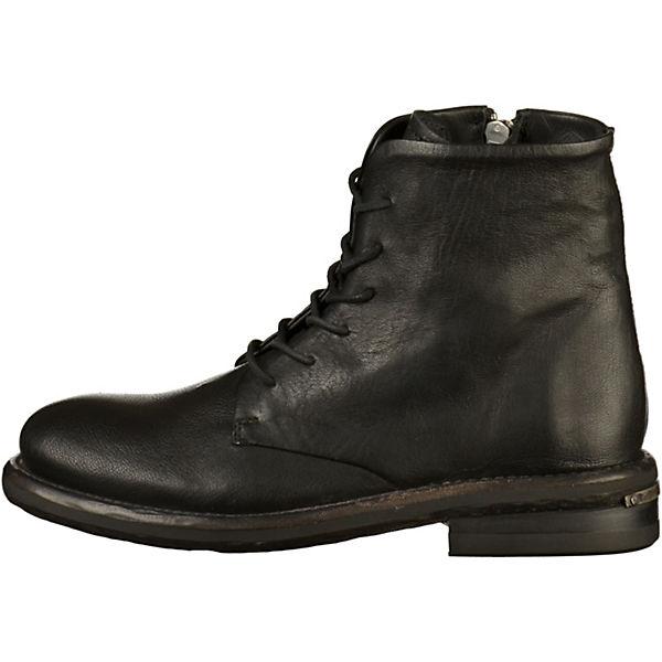 Shabbies Amsterdam, Stiefelette Schnürstiefeletten, schwarz Gute Qualität beliebte Schuhe