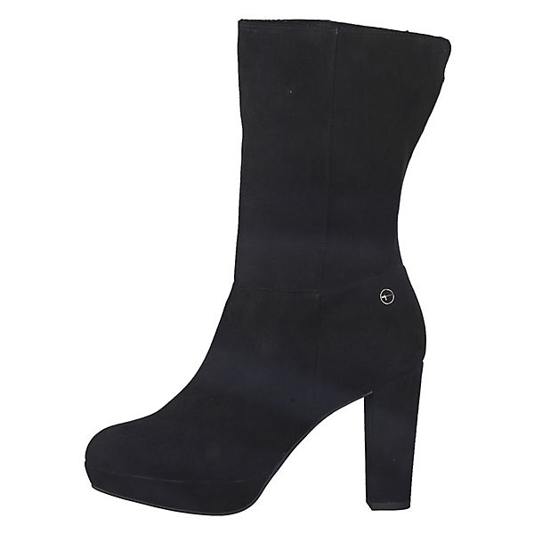 Tamaris, 1-25322-21 Stiefel 001 Damen Black Schwarz Stiefel 1-25322-21 Klassische Stiefel, schwarz   4551c0